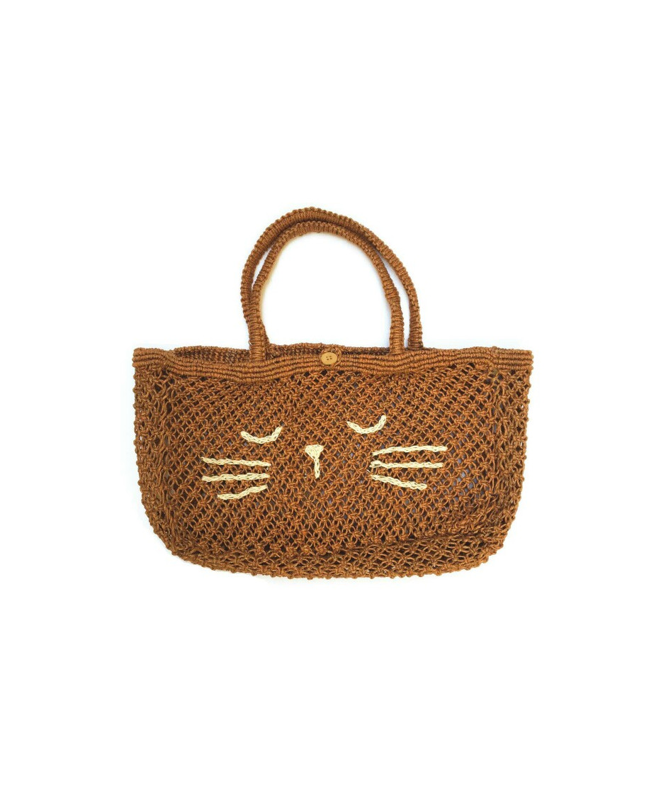 EMILE ET IDA BAG JUTE SABLE