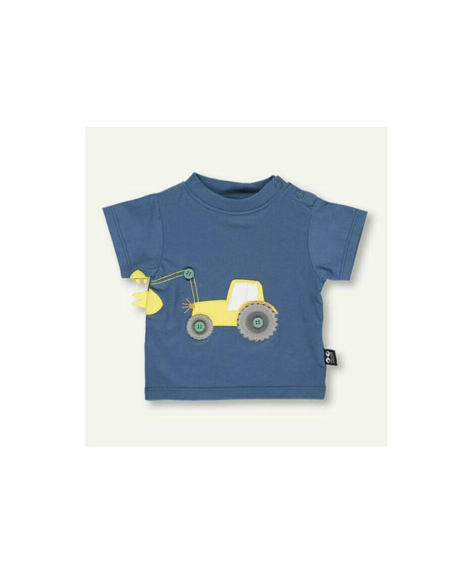 UBANG TEE BABY TRACTOR BLUE