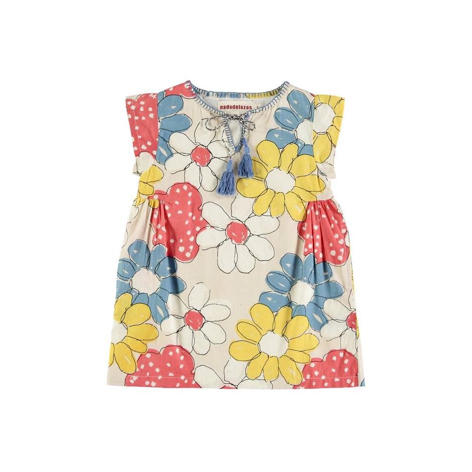 NADADELAZOS DRESS FLOWERS