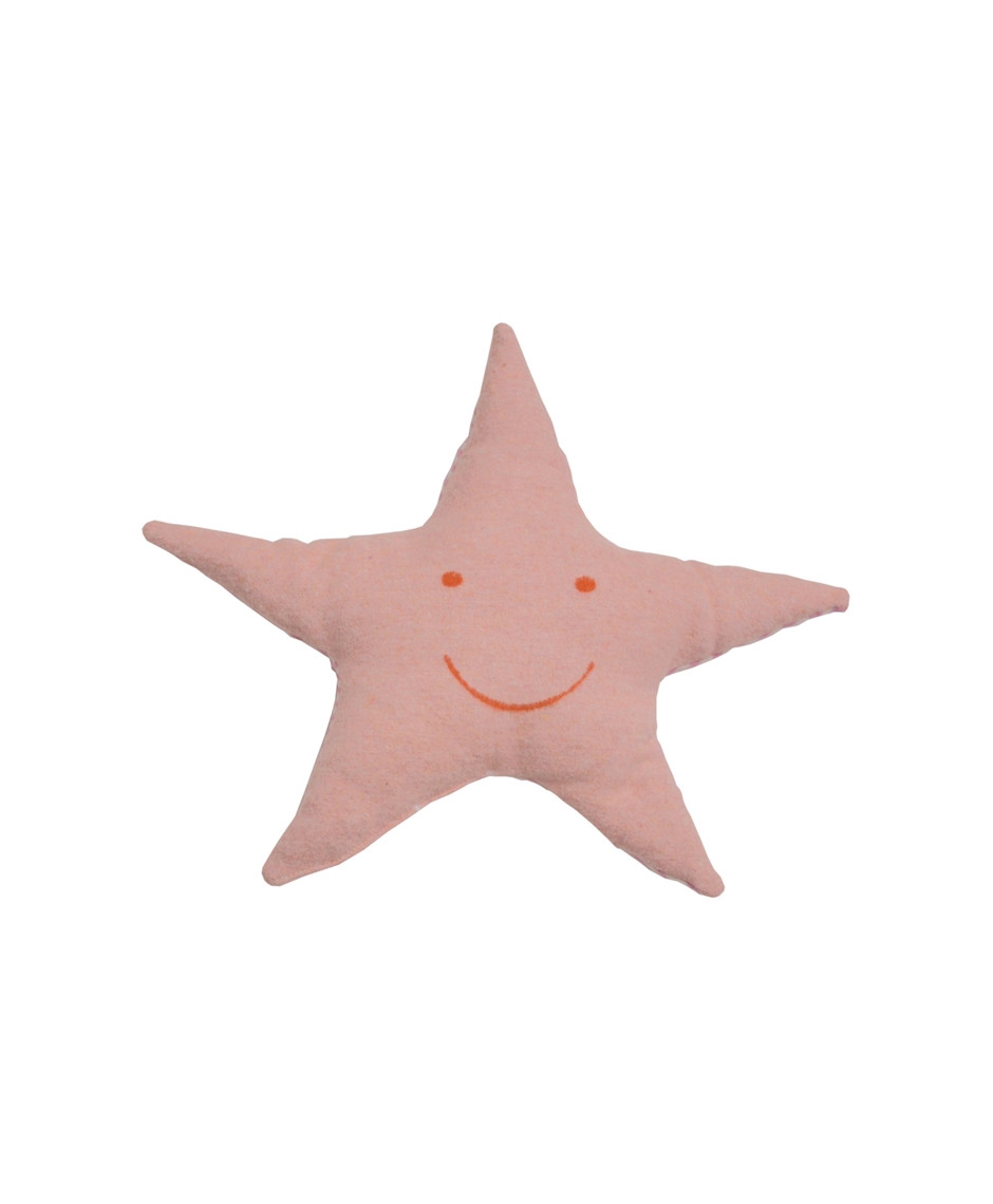 DAVID F. REVERSIBLE STAR CUSHION