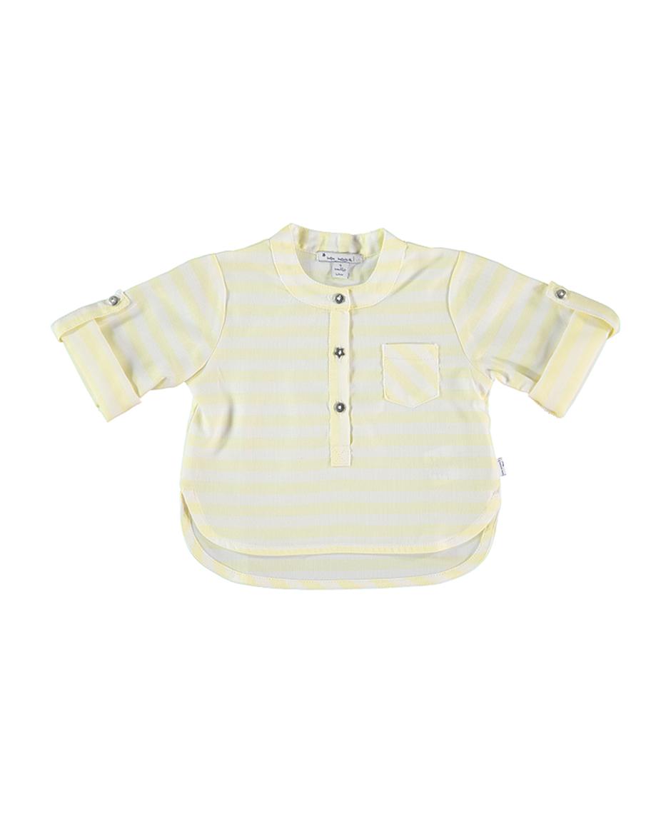 MON MARCEL Camisa Rayas / Limón