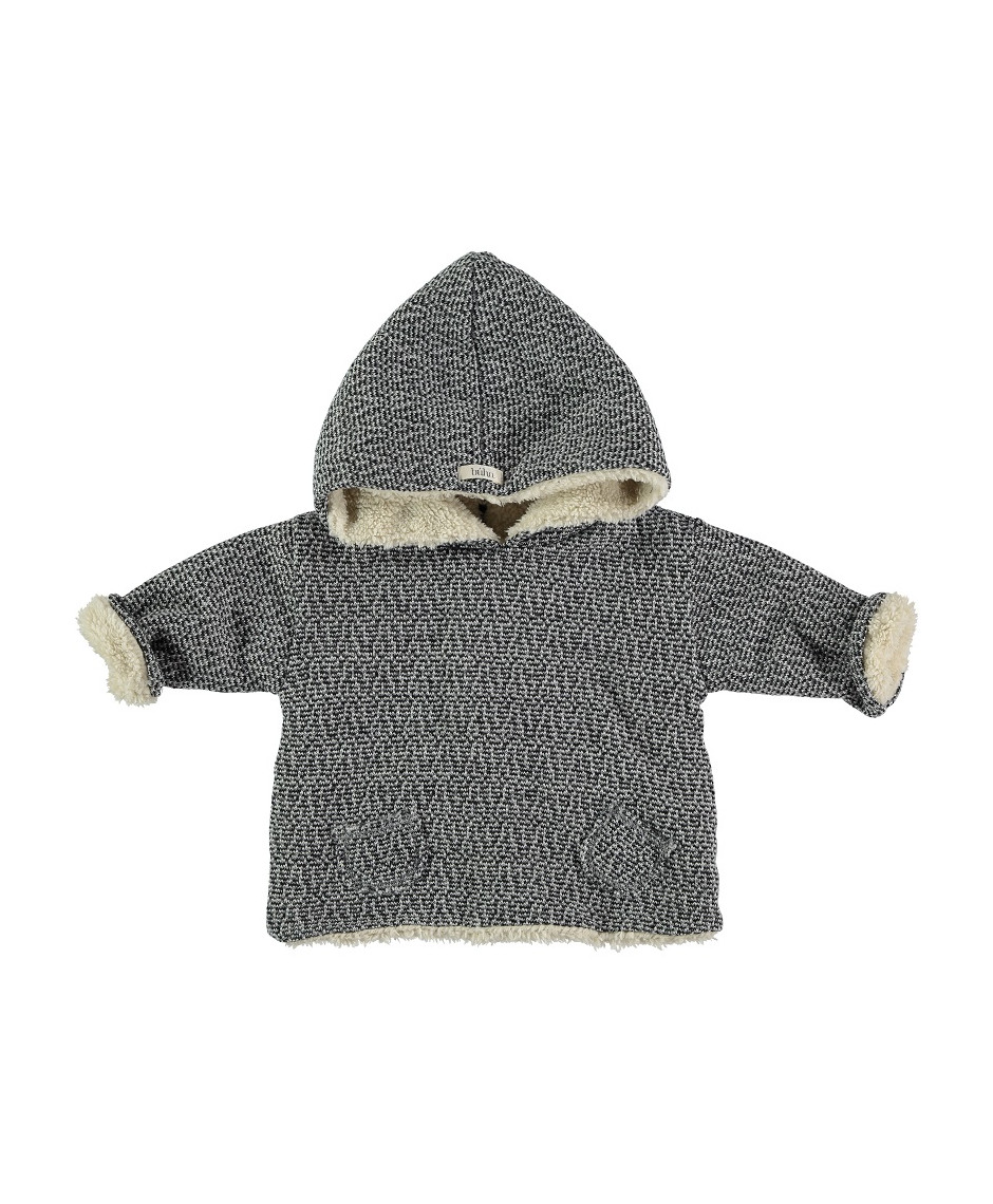 BÚHO BCN POLAR JACKET BABY GREY