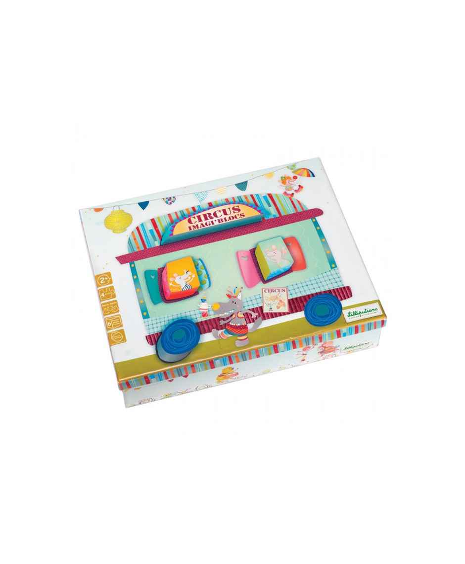 LILLIPUTIENTS PUZZLE 3D CIRCUS