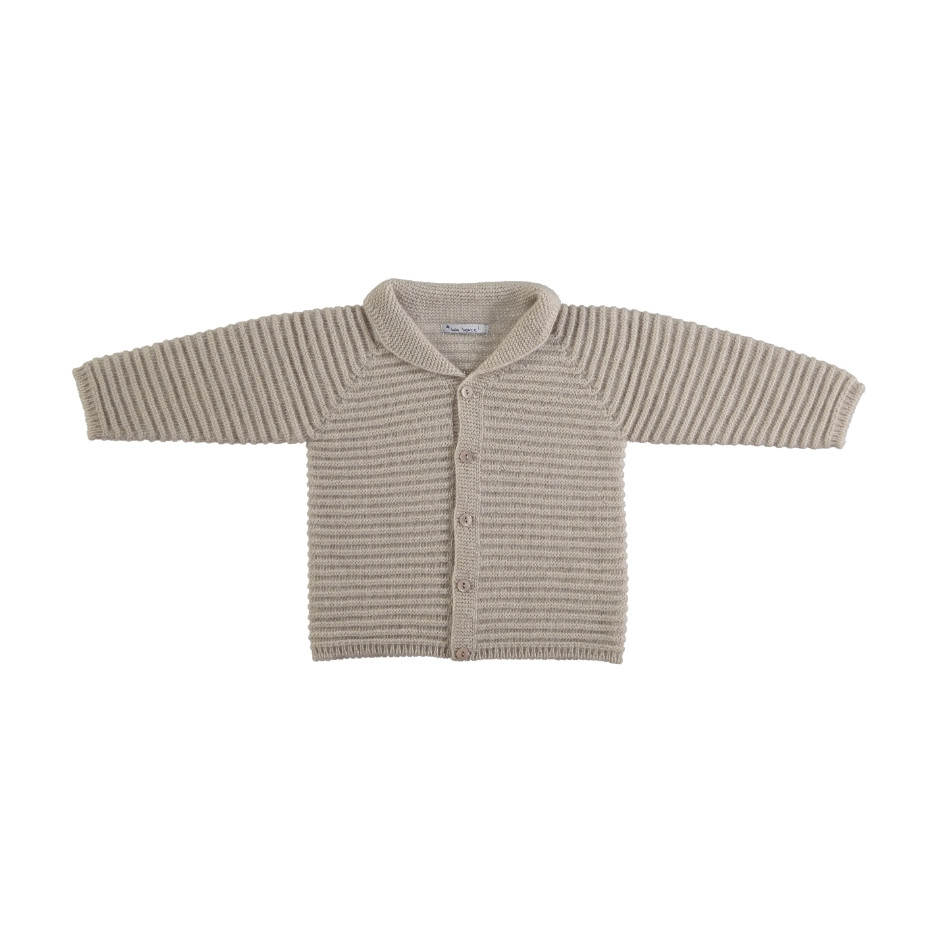MON MARCEL JACKET WITH BUTTONS BEIGE