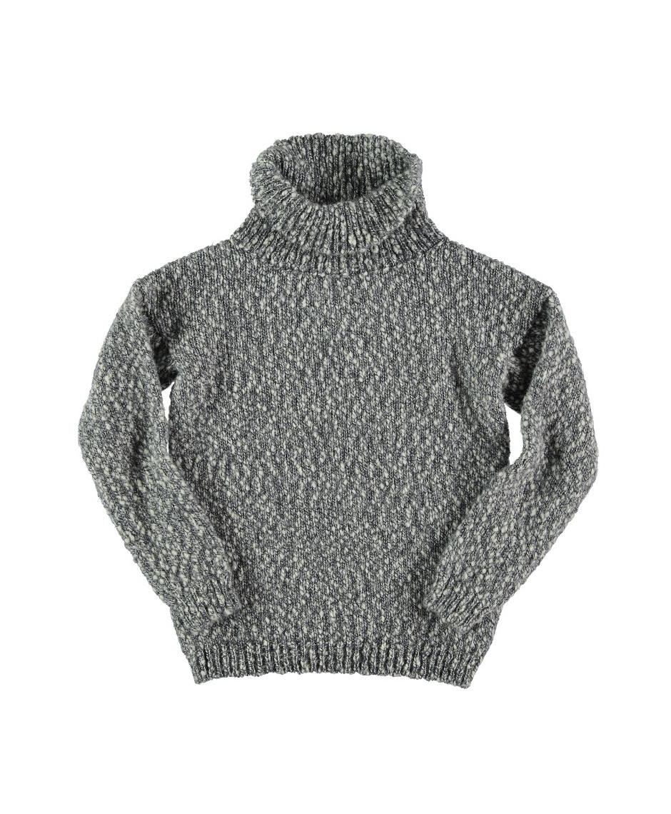 BÚHO BCN SWEATER TURTLENECK WOMAN GREY