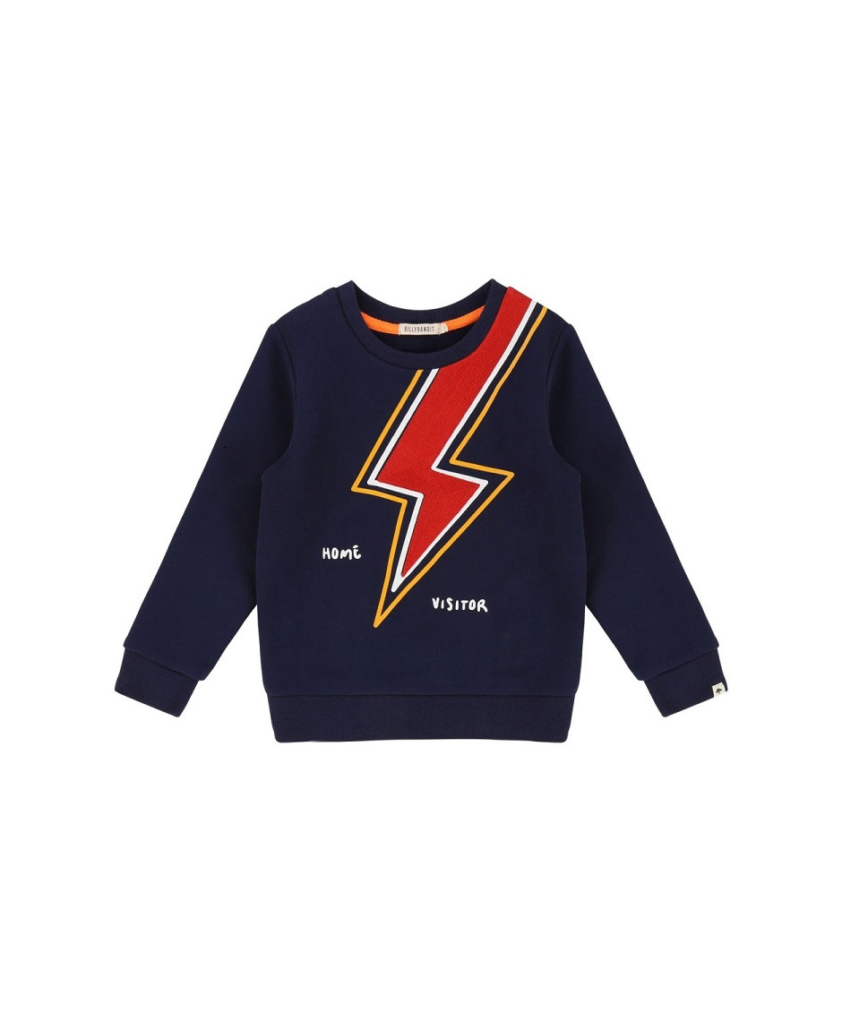 BILLYBANDIT SWEATSHIRT THUNDER BLUE
