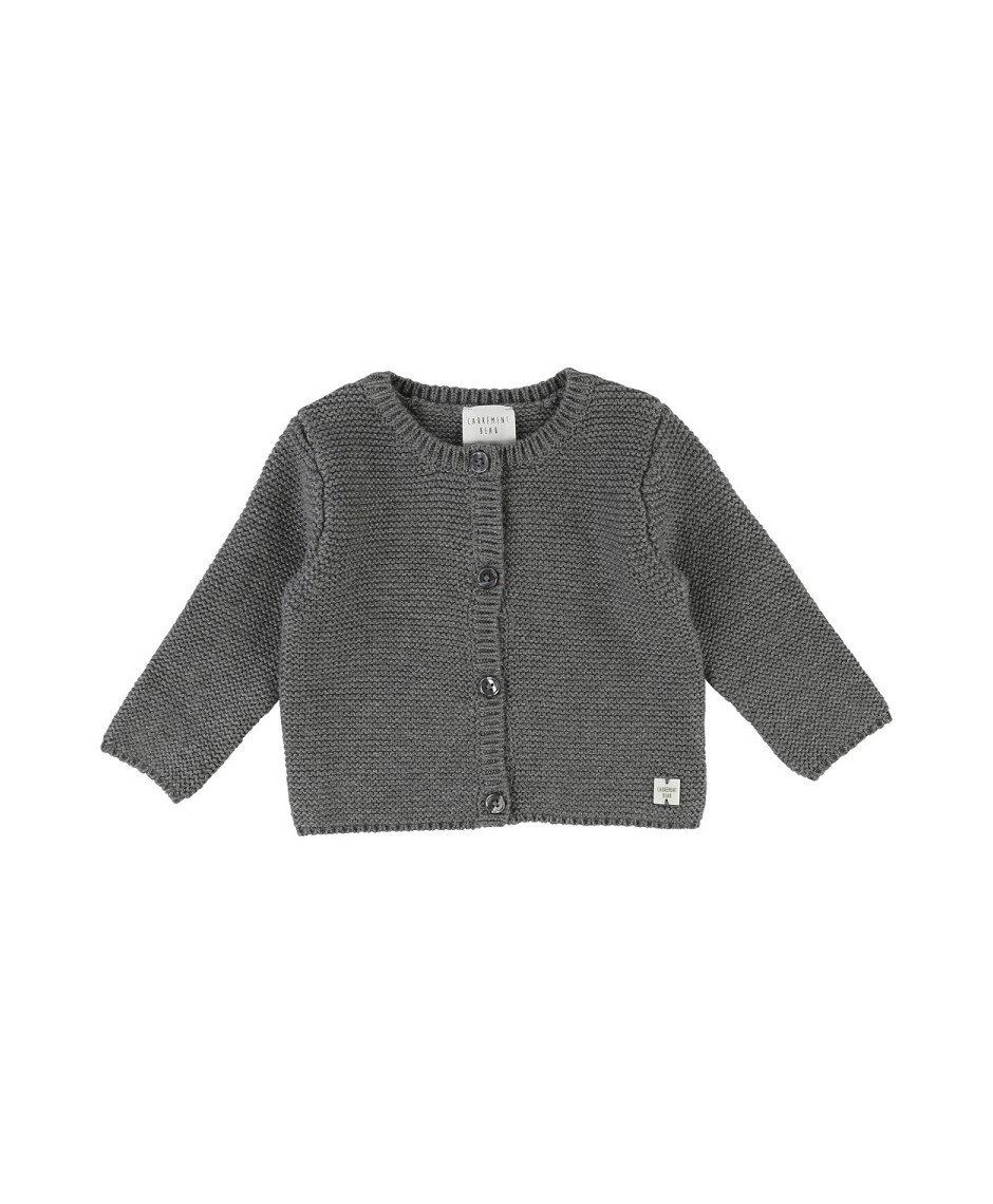 CARRÉMENT BEAU CARDIGAN DARK GREY