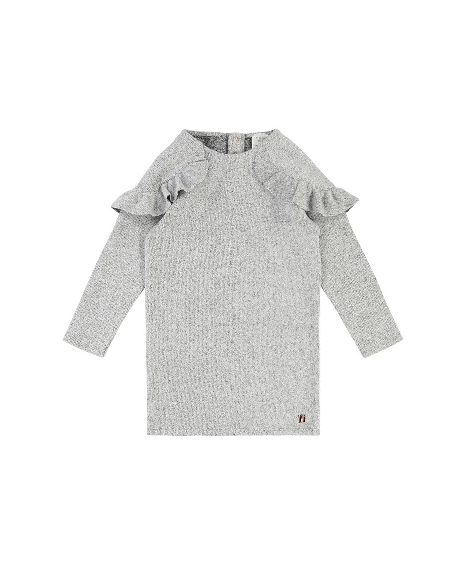 CARRÉMENT BEAU DRESS LIGHT GREY