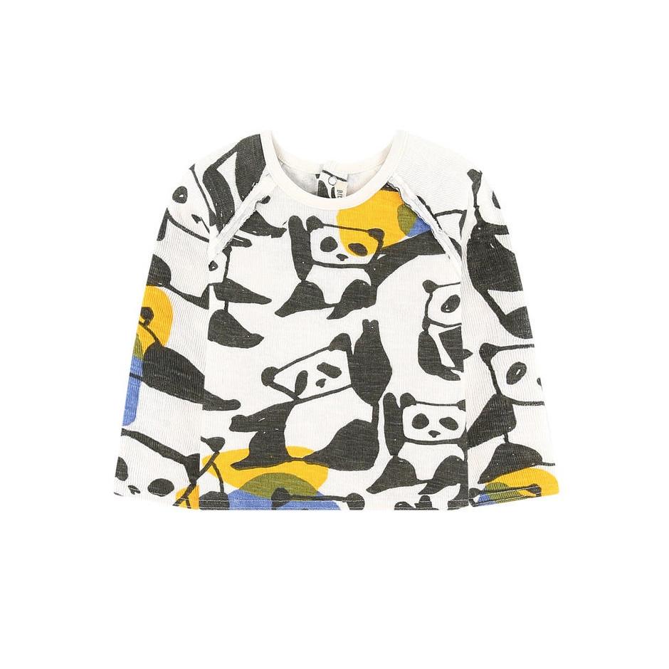 BILLYBANDIT T-SHIRT PANDA WHITE