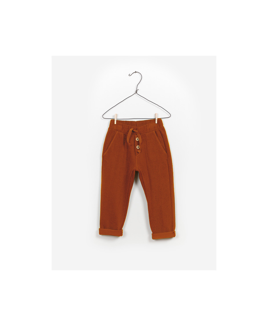 PLAY UP PANTS INTERLOCK OCRE