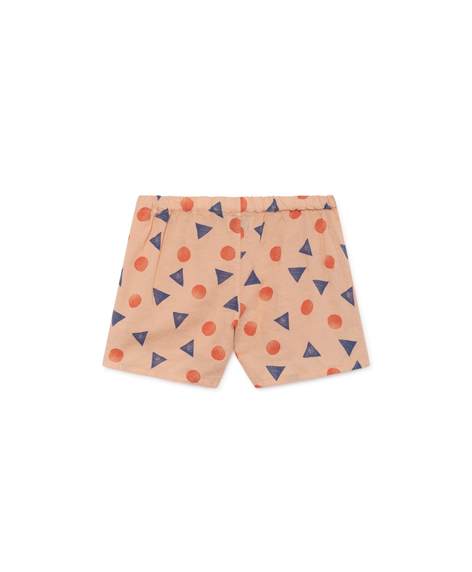 BOBO CHOSES SHORTS GEOMETRIC BEIGE