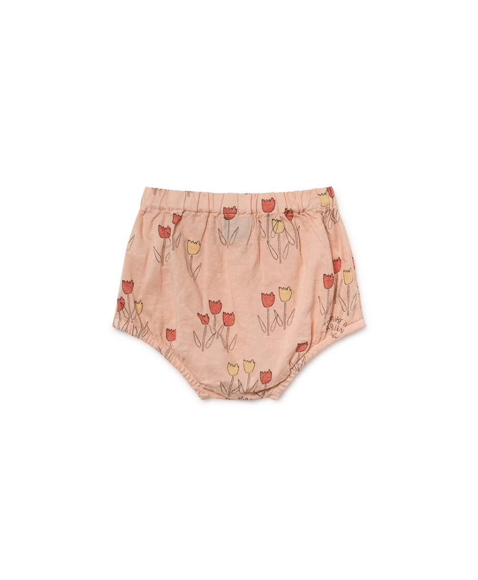 BOBO CHOSES CULOTTES FLOWERS ROSE DUST