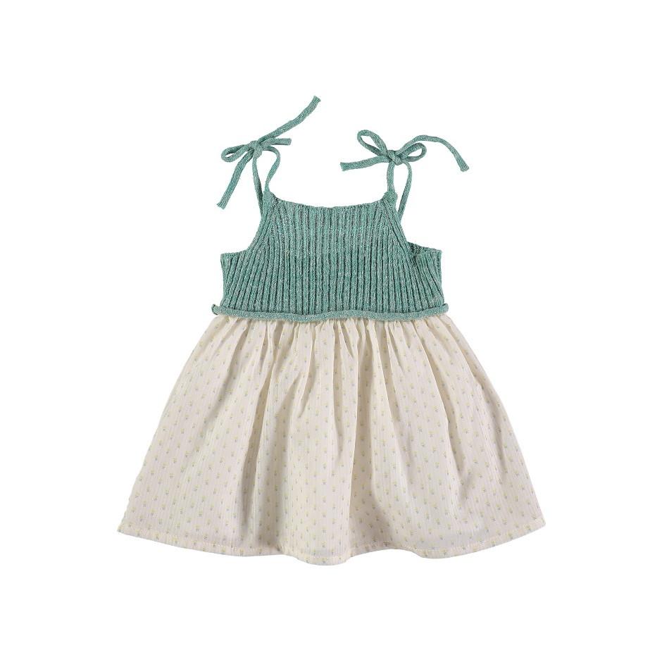 BÚHO BCN DRESS FLOWERS JADE YELLOW