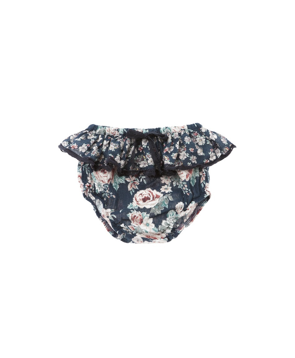 TOCOTO CULOTTE FLOWERS RUFLES