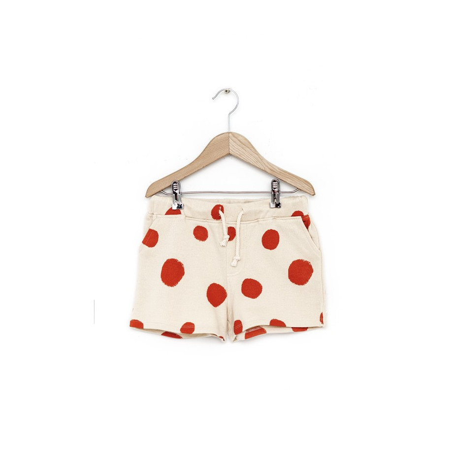 NADADELAZOS SHORT DOTS LIGHT BEIGE