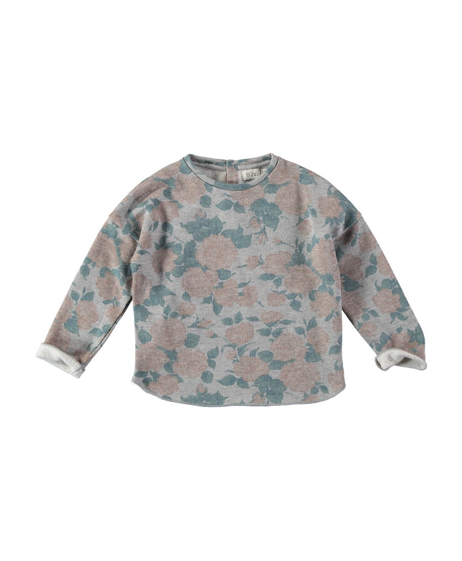 BÚHO BCN ROSE FLORAL SWEATER
