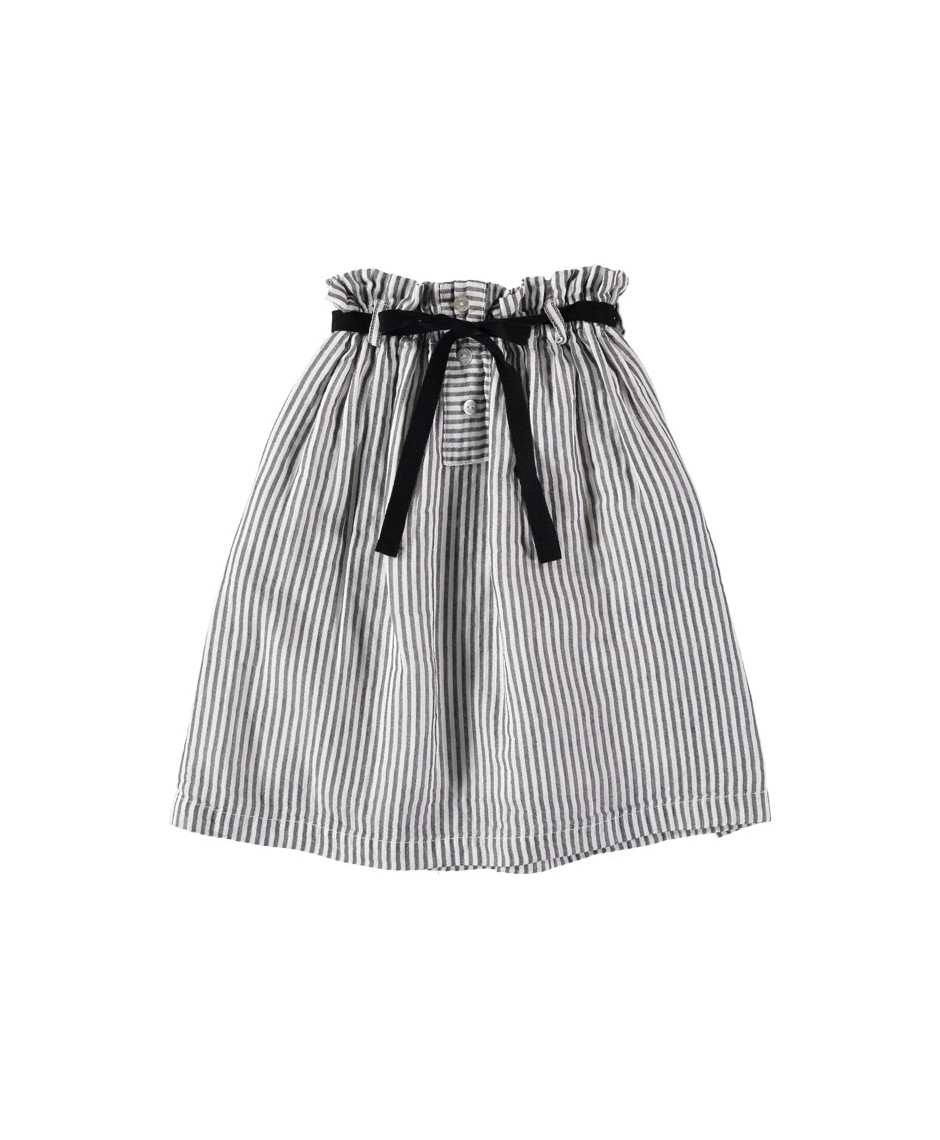 BÚHO BCN ANOUKA MIDI STRIPES SKIRT