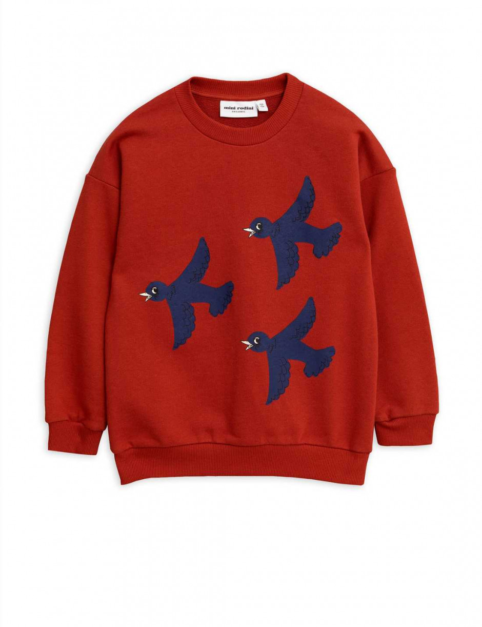 MINI RODINI FLYING BIRDS SWEATSHIRT