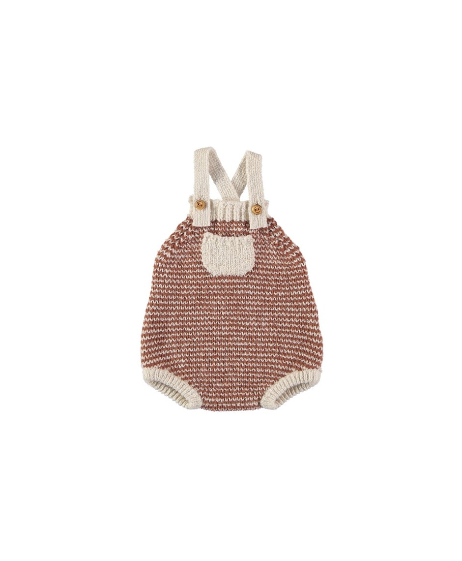BÚHO BCN NUKA STRIPES KNIT ROMPER