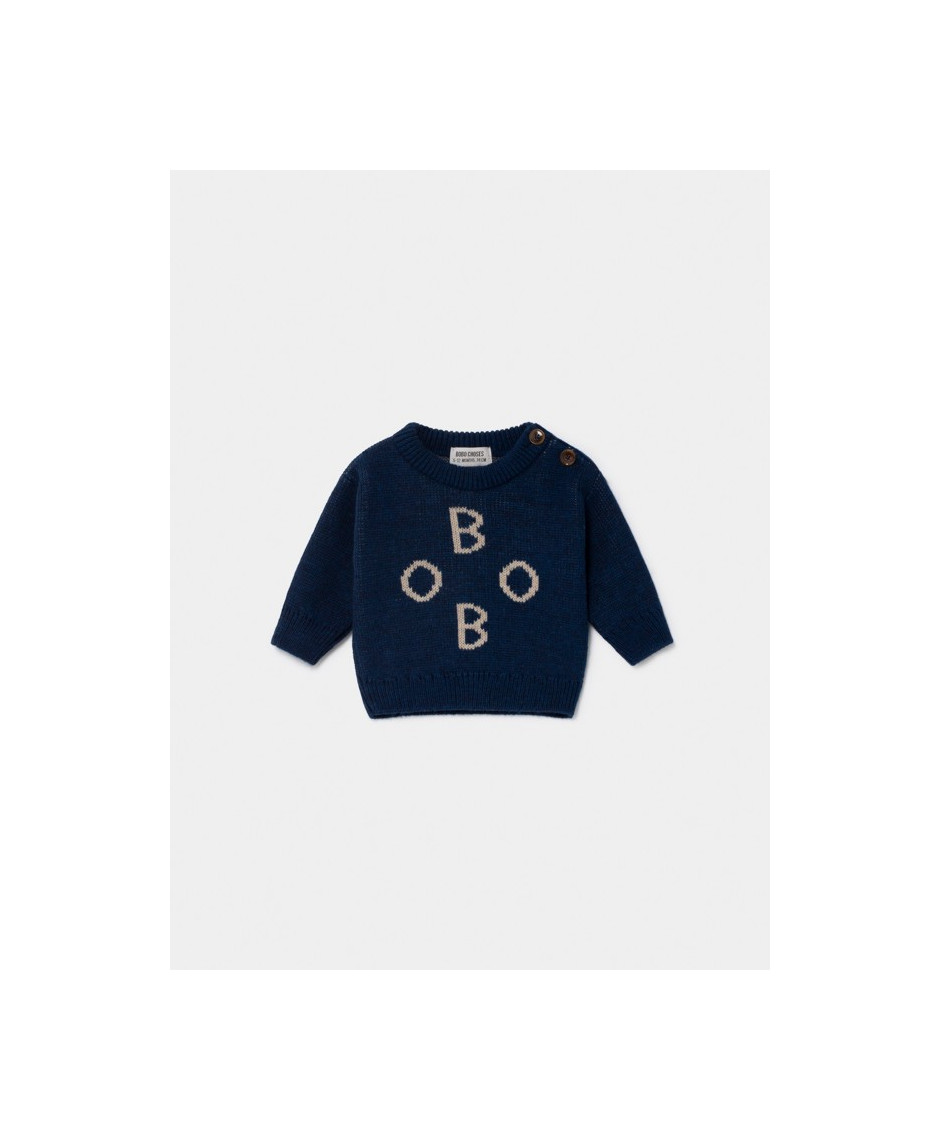 BOBO CHOSES JACQUARD JUMPER