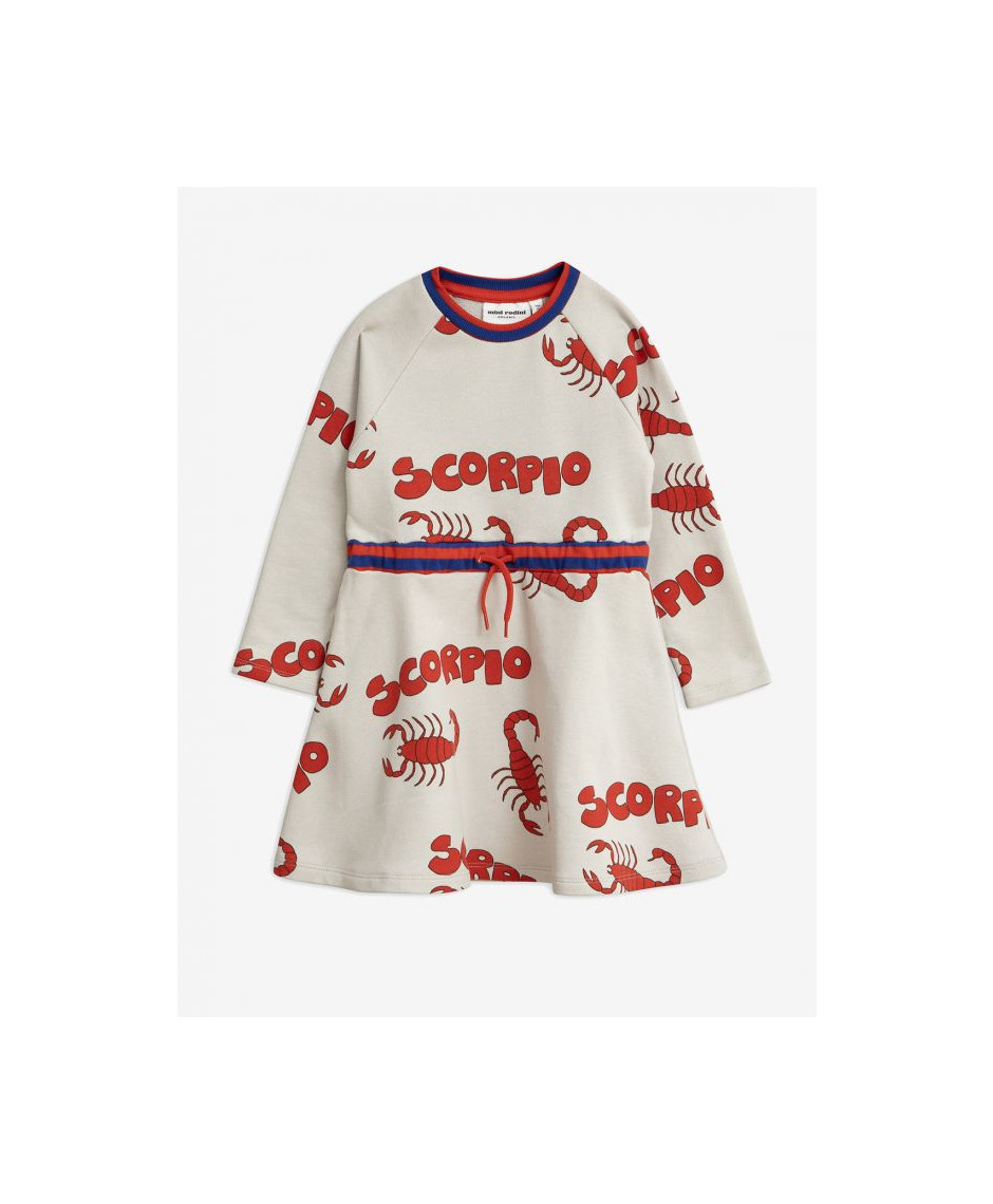 MINI RODINI SCORPIO PRINTED SWEATDRESS