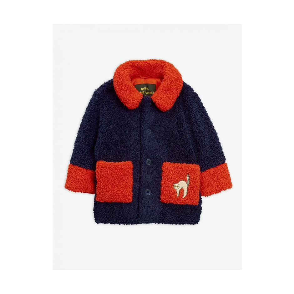 MINI RODINI FAUX FUR JACKET