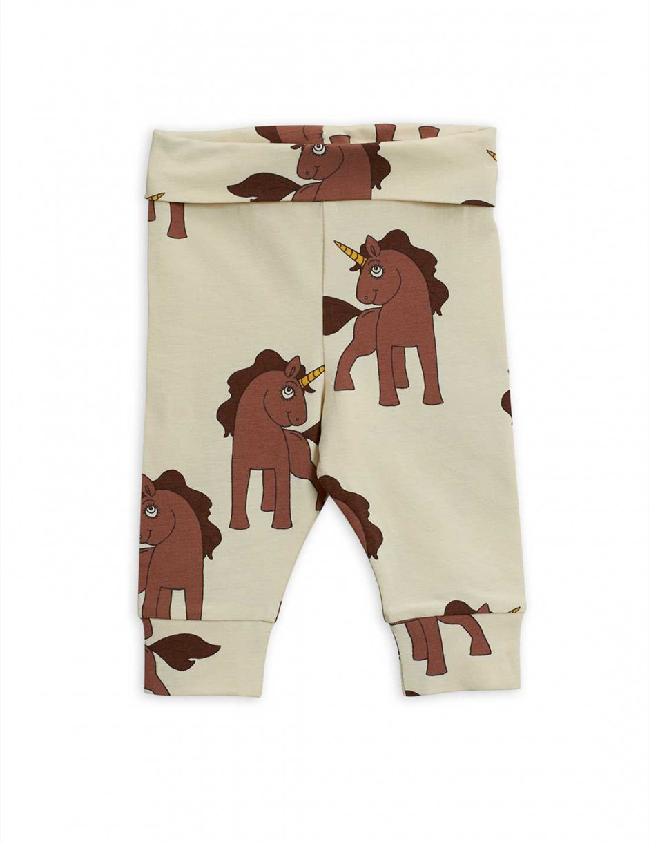 MINI RODINI Unicorn Newborn Leggings