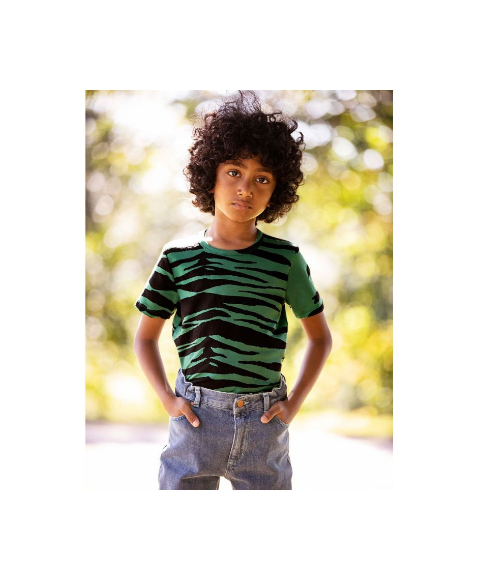 MINI RODINI Basic Tiger T-shirt