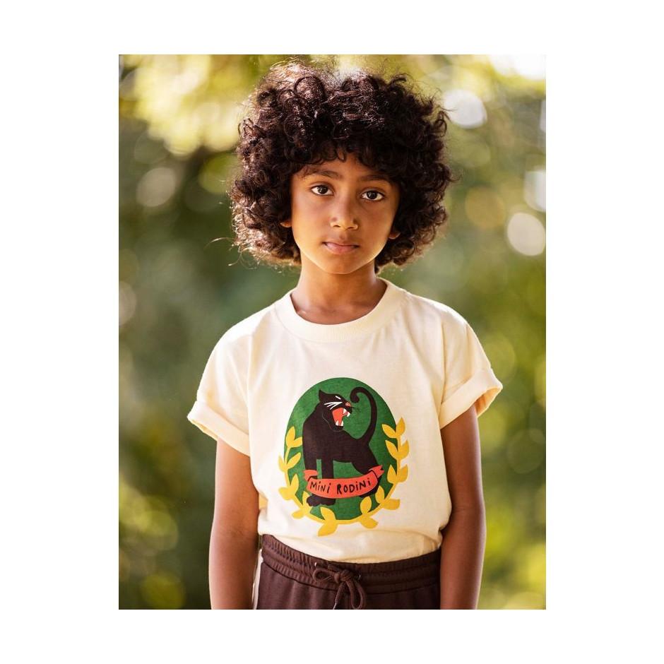 MINI RODINI Panther Badge T-shirt