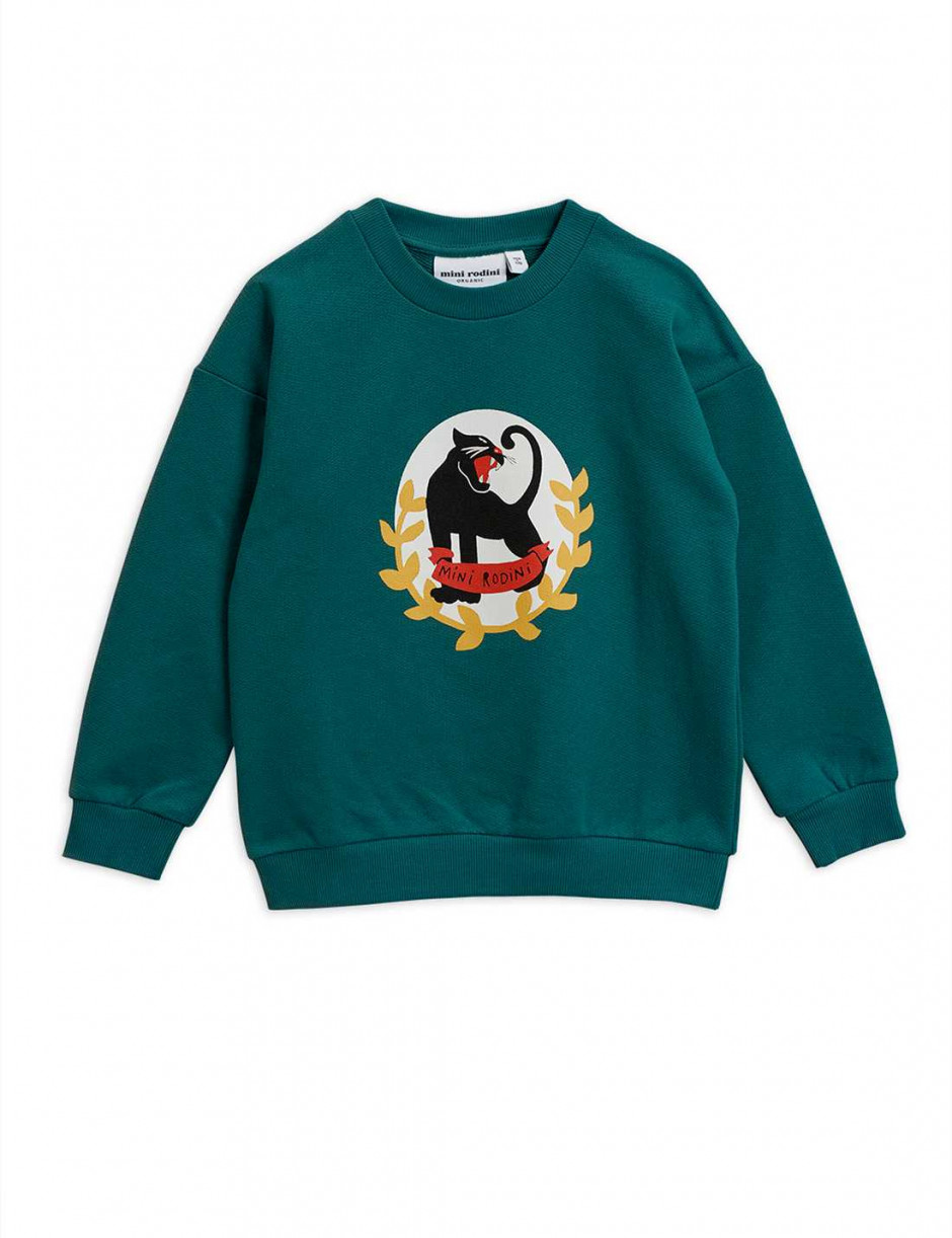 MINI RODINI Panther Badge Sweatshirt