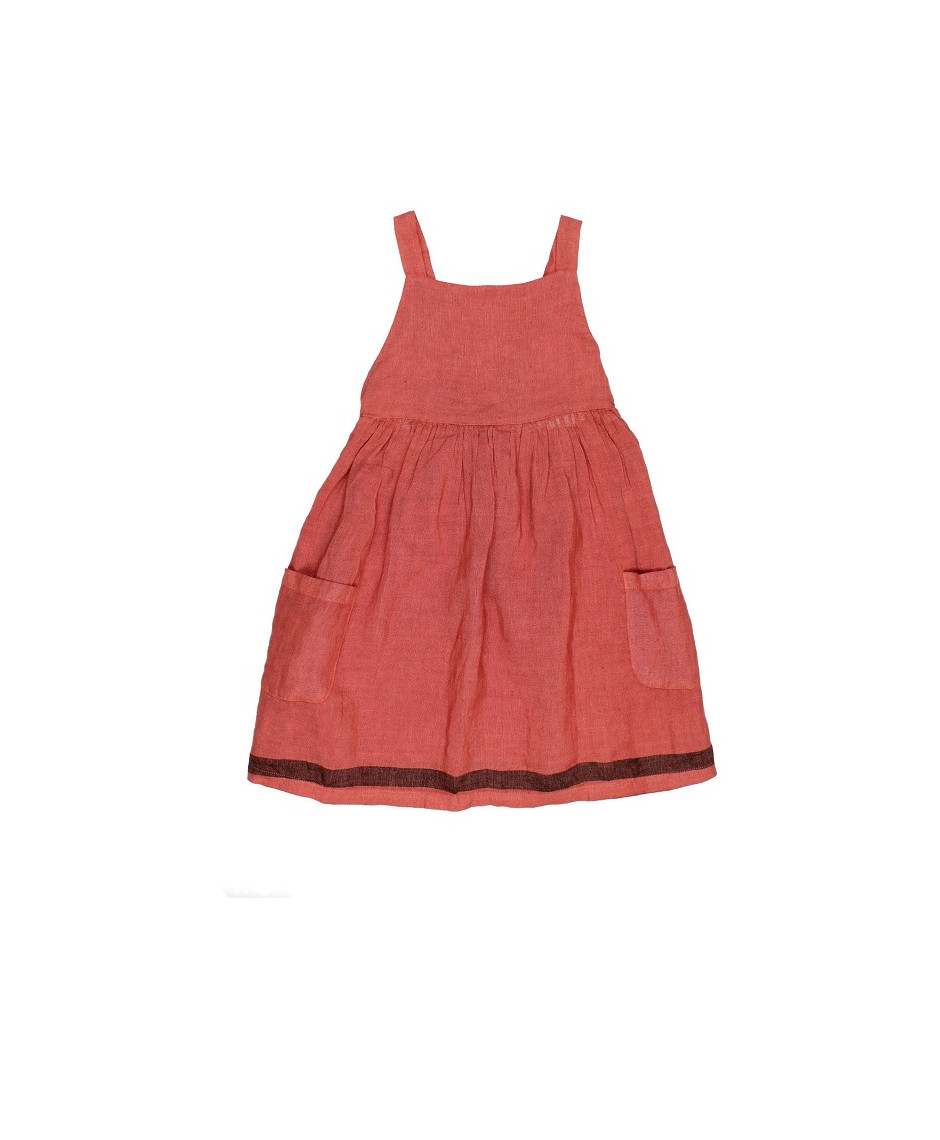 BÚHO BCN YVONNE DUNGAREE DRESS