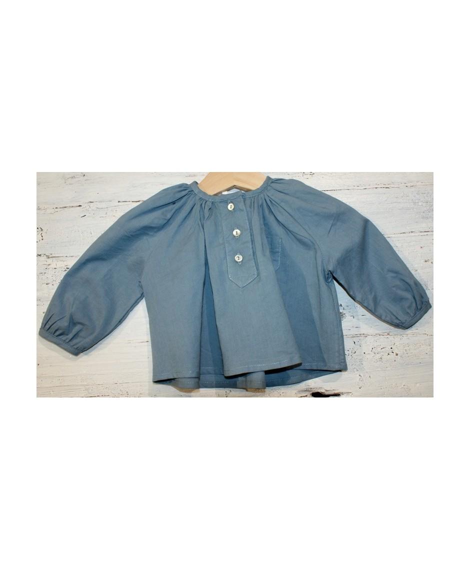 tocotó Camisa turquesa vintage